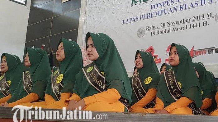 Diwisuda, 32 Warga Binaan Lapas Wanita Malang Dapat Gelar Ustadzah