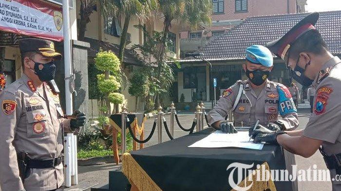 Kasat Lantas Dan Kasat Intelkam Polresta Malang Kota Resmi Berganti