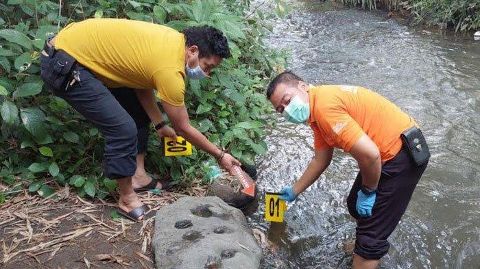 Polisi Buru Orang Tua Yang Tega Buang Bayi Perempuan di Sungai Jatirejo