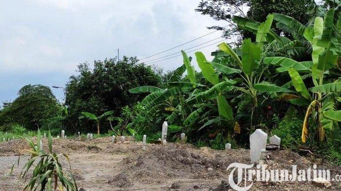 Makam Khusus Jenazah Covid-19 di Kota Mojokerto Mulai Penuh