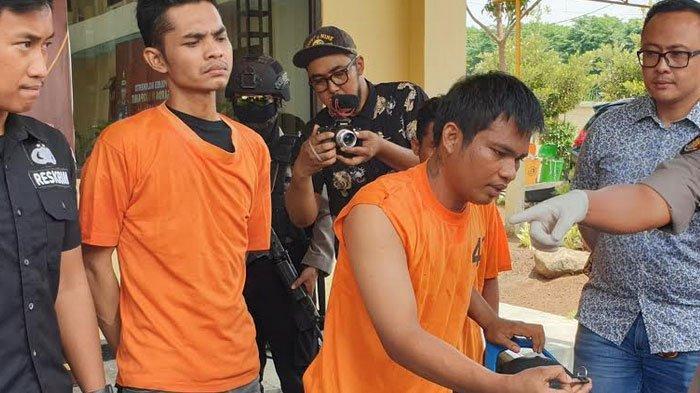 Polisi Tembak Pelaku Curanmor Yang Terekam Kamera CCTV di Mojokerto