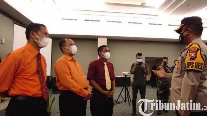 Tim Satgas Covid-19 Bubarkan 2 Kegiatan Wisuda Kelulusan SMA di Kota Mojokerto