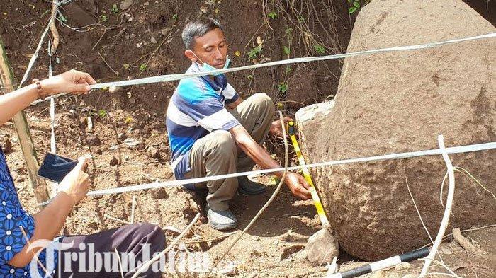 Penemuan Batu Purbakala Kuatkan Keberadaan Bangunan Suci di Situs Candi Kumitir Mojokerto