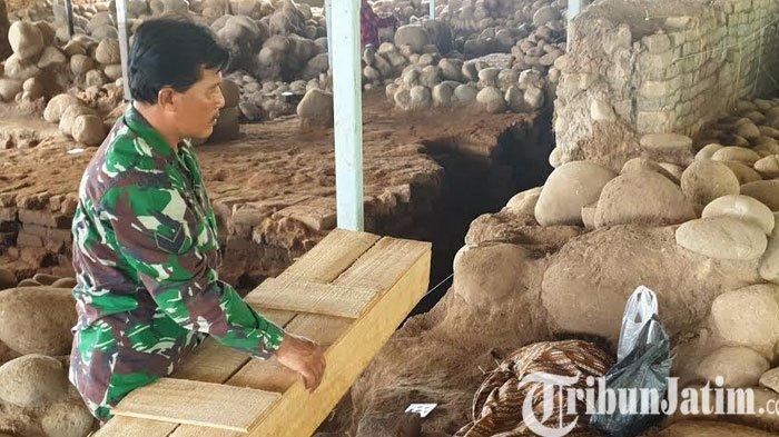 BPCB Jatim Tunggu Hasil Forensik Usia Kerangka Manusia Wanita Yang Ditemukan di Situs Kumitir