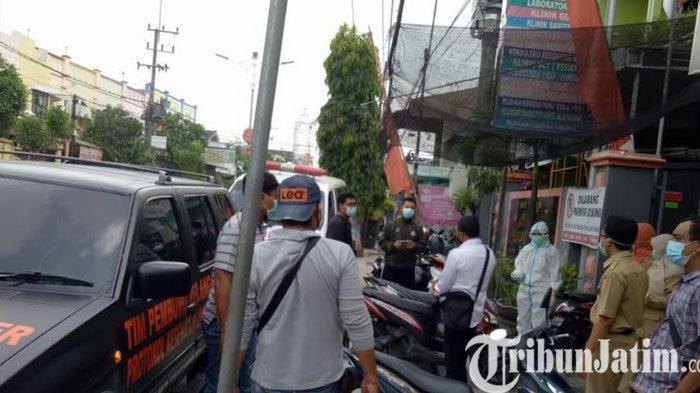 Tim Covid Hunter Kota Mojokerto Evakuasi 2 Orang Positif Covid-19, Isolasi di Rusunawa Cinde