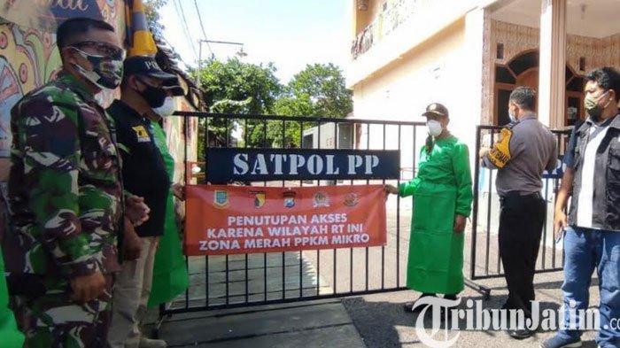 Kasus Covid-19 Melonjak 3 Lingkungan di Kota Mojokerto Ditutup dan PPKM Mikro