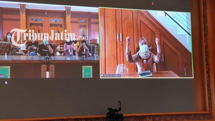 Wali Kota Mojokerto Secara Virtual Sampaikan 8 Skala Prioritas Pembangunan Tahun 2021