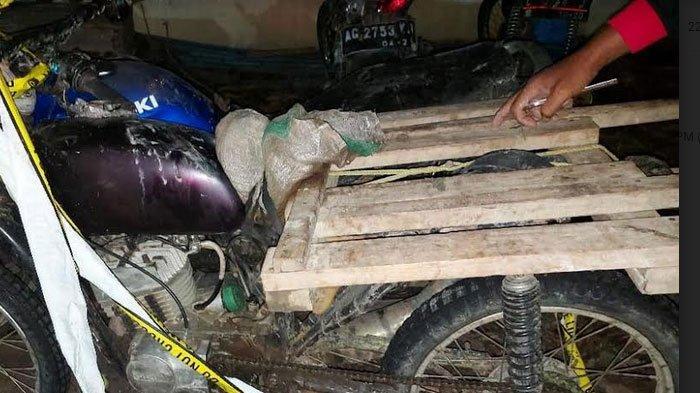 Diduga Curi Kayu Jati Di Hutan, Seorang Petani Dan Pekerja Serabutan Diamankan Polisi Nganjuk