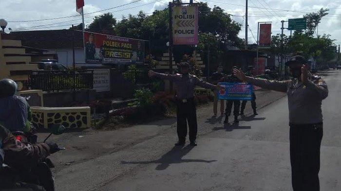 Penegakan Disiplin Pakai Masker Di Jalan Umum Terus Dilakukan Satgas Covid-19 Nganjuk