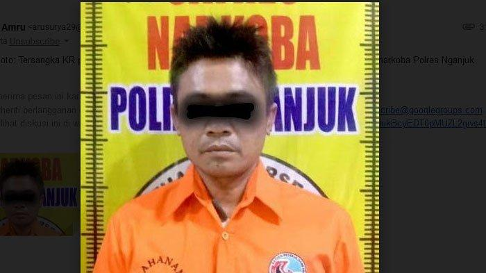 Mau Pesta Sabu-sabu  Bersama Teman, Seorang Karyawan Swasta di Nganjuk Diciduk Polisi