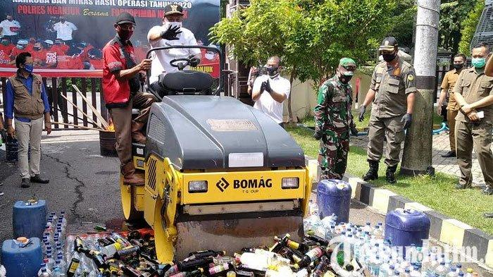 Selama Tahun 2020, Angka Kriminalitas di Wilayah Polres Nganjuk Alami Penurunan