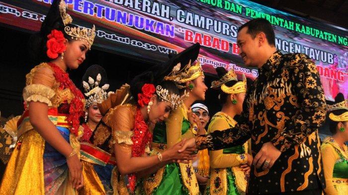 Pergelaran Duta Seni Budaya Kabupaten Nganjuk 'Wayang Timplong' Dimanakah Kamu?