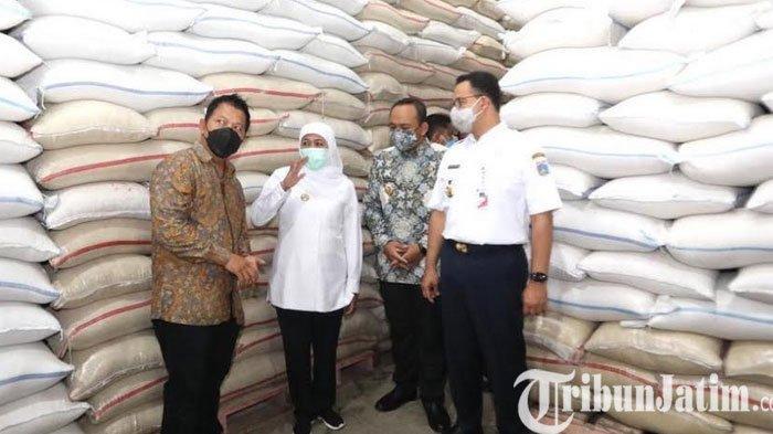 Beras Ngawi Diserap Pemprov DKI Jakarta untuk Suplai Pangan Warga Ibukota