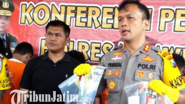 Sindikat Copet Asal Surabaya Beraksi di Ngawi, Modusnya Lempar Petasan di Kerumunan