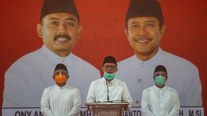 Didukung 10 Partai, Pasangan Ony Anwar-Dwi Rianto Deklarasi Maju Pilkada Ngawi 2020