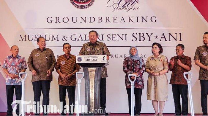 Berkaca-Kaca Saat Ungkap Alasan Membangun Museum di Pacitan, SBY: Ibu Ani Sangat Cinta Pacitan