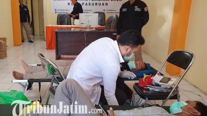 Peringati HUT Bawaslu Kota Pasuruan ke-12, Ajak Masyarakat Donor Darah