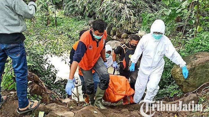 Mayat Perempuan Ditemukan di Sungai di Purwosari Pasuruan, Posisinya Terlungkup di Atas Batu