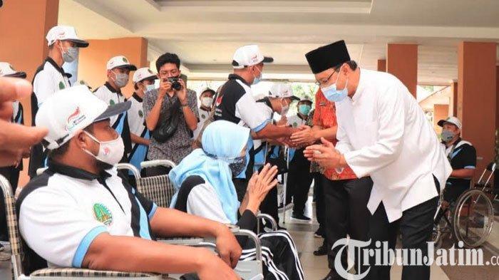 Turun Peparprov 2021 di Surabaya, Gus Ipul Bangga ke Atlet Penyandang Disabilitas Kota Pasuruan