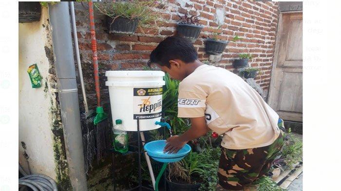 Terapkan Kearifan Lokal, Karta Aruna Seroja Pasuruan Siapkan Wadah Cuci di Depan Rumah