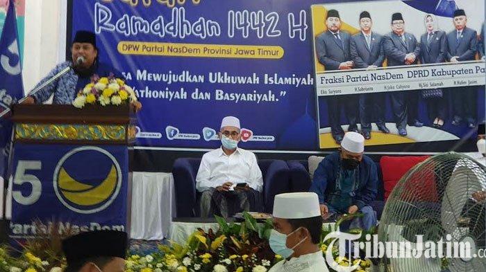 Pulihkan Ekonomi, DPW NasDem Gelar Safari Ramadhan dan Beri Santunan