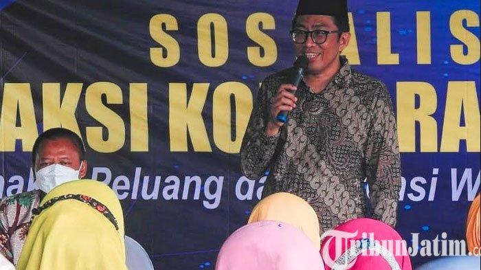 Dorong UMKM Pasuruan Bangkit, Faisol Riza Sosialisasi Aksi Korporasi BUMN