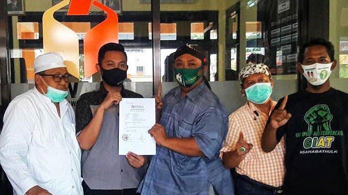 Baliho Diturunkan, Relawan Gus Ipul - Mas Adi Lapor Bawaslu Kota Pasuruan