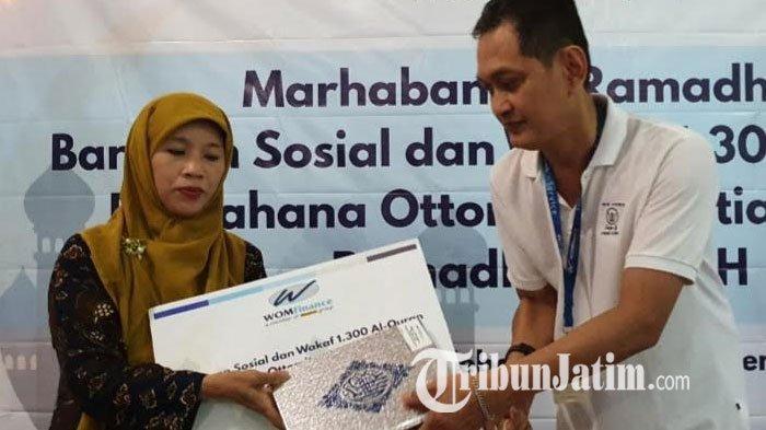 WOM Finance Cabang Pasuruan Bagikan Bantuan Al-qur'an di Bulan Ramadan