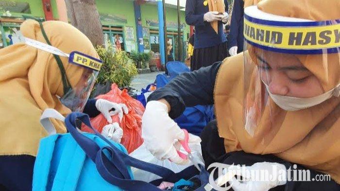Ratusan Santri Mulai Kembali ke Ponpes di Kabupaten Pasuruan