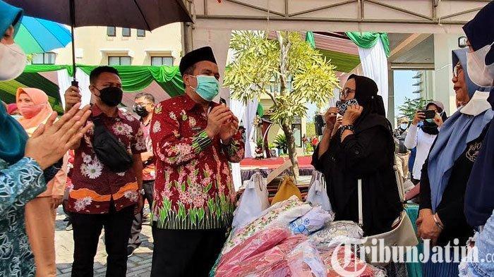 Upaya Jaga Stabilitas Harga Kebutuhan Sembako, Pemkab Pasuruan Gelar Pasar Murah Ramadhan