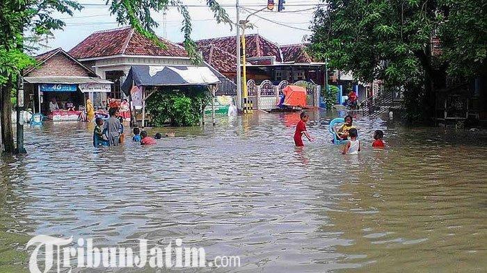 Sejumlah Desa di Tiga Kecamatan di Kabupaten Pasuruan Kembali Terendam Banjir