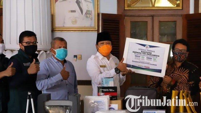 Pemkab Pasuruan Dapatkan Bantuan Alat Kesehatan dari Yayasan Rumah Kita
