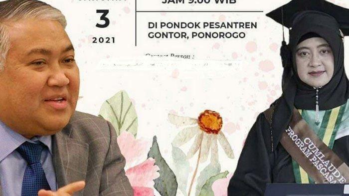 Tertutup, Mantan Ketum PP Muhammadiyah Din Syamsuddin Nikahi Cucu Pendiri Ponpes Gontor