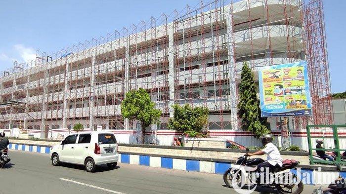 Target Selesai Akhir Bulan, Peresmian Proyek Pasar Legi Ponorogo Tunggu Intruksi Kementerian PUPR