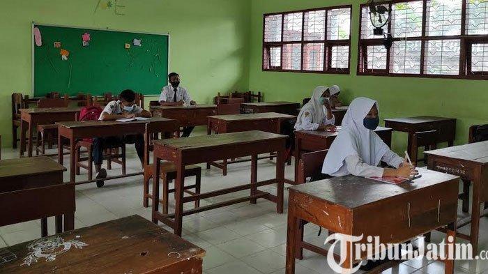 Wali Murid Belum Menghendaki, Hanya Satu SMP di Ponorogo Yang Belum PTM