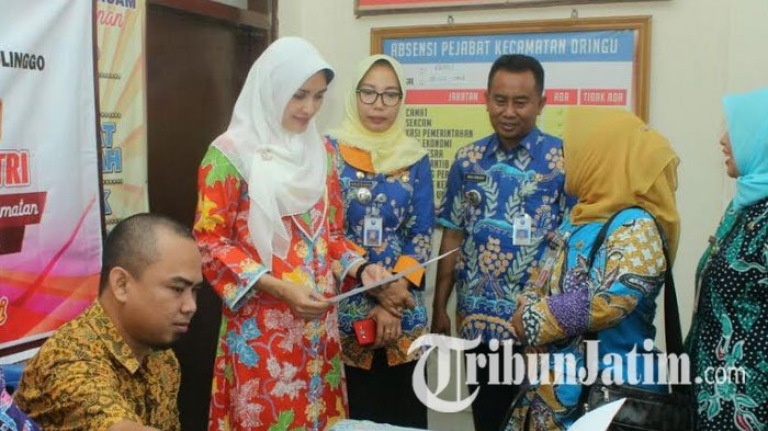 Bupati  Probolinggo Tantri Launching Layanan Aplikasi Lapak