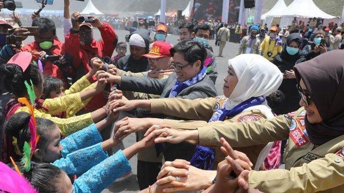 Canangkan Kawasan Siaga Bencana Bromo,  Gubernur Jatim Khofifah Minta Diikuti Daerah Lain