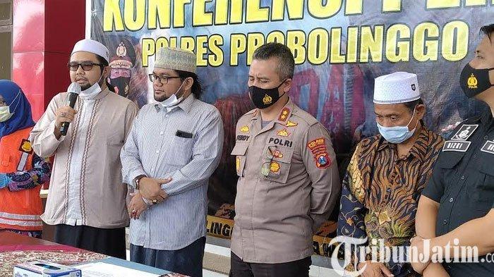 Polres Probolinggo Tak Melanjutkan Kasus Lempar Nasi Sotoke Kiai Ponpes Zainul Hasan Genggong