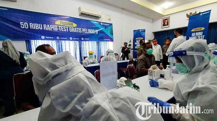 Antisipasi Penyebaran Covid-19, Nelayan, Kru Kapal di Probolinggo Ikut Rapid Test Gratis