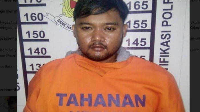 Pelaku Curanmor di Taman Sidoarjo Ini Tertangkap, Bawa Kunci T Saat Polisi Gelar Razia di Surabaya