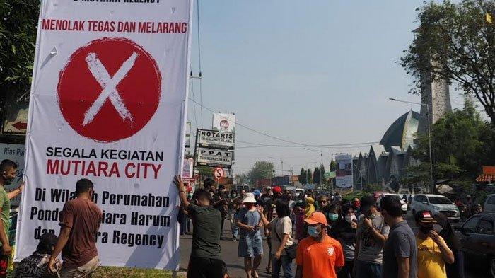 Warga di Dua Perumahan Sidoarjo ini Tolak Jalan Perumahan Jadi Akses Mutiara City