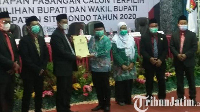 KPU Tetapkan Paslon Terpilih  Bupati dan Wakil Bupati Situbondo