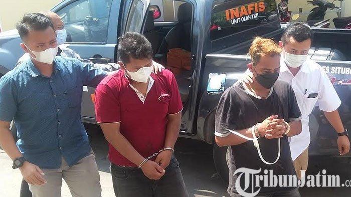 Dua Pelaku Curas Dibekuk Polisi Situbondo Seusai Satroni Rumah Warga, Tiga Pelaku Kabur