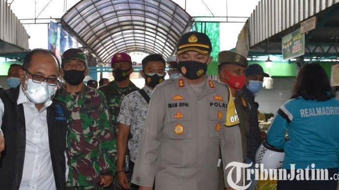 Pasar, Satgas Covid-19 Situbondo Jatim Banyak Temukan Warga Tak Gunakan Masker