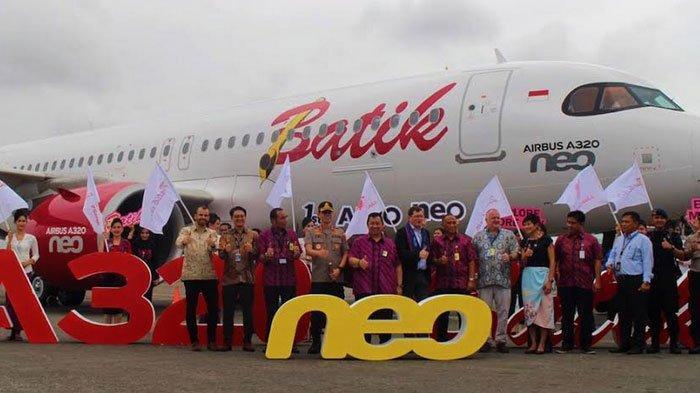 Batik Air Resmi Datangkan Airbus 320-200NEO, Punya Layanan Premium, Intip Spesifikasinya