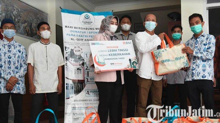 BNI KC dan SKC Graha Pangeran Surabaya Gelar Safari Ramadan 1442 H