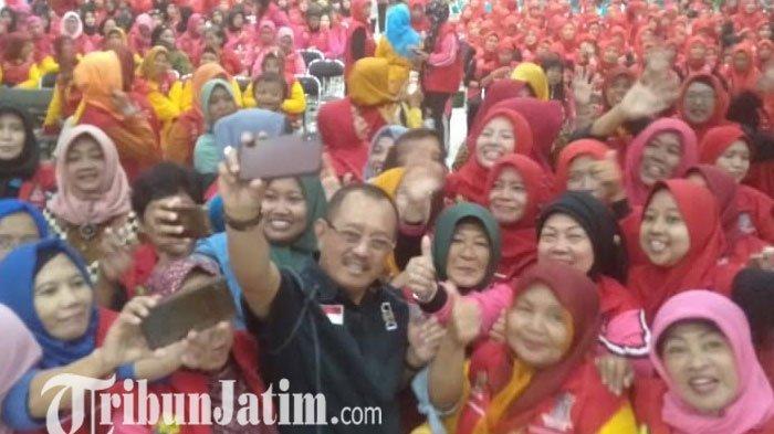Pilwali Surabaya 2020  Cak Ji Siapkan Banner Besar