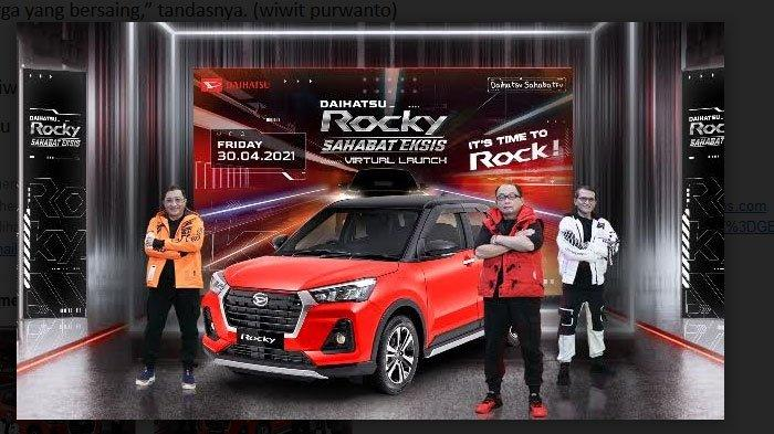 Daihatsu Rocky Resmi Meluncur, Pakai Mesin Berteknologi Dual Mode CVT, Ini Harganya