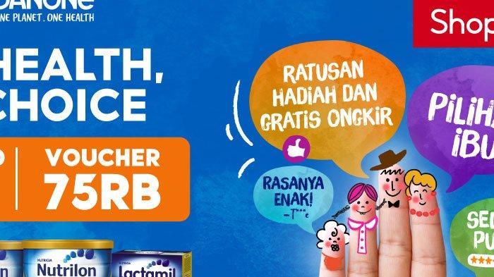 Danone Specialized Nutrition Berikan Inspirasi Nutrisi Lewat Kampanye Regional di Shopee