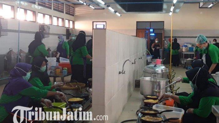 Asrama Embarkasi Surabaya Layani Kebersihan Dapur Hingga Menu Sehat Untuk Calon Jamaah Haji